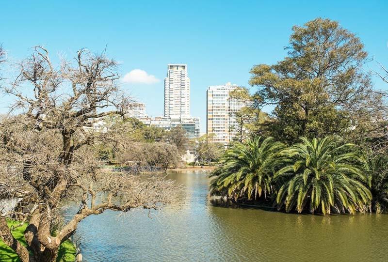 Bosques de Palermo jardin japonais Buenos Aires Argentine