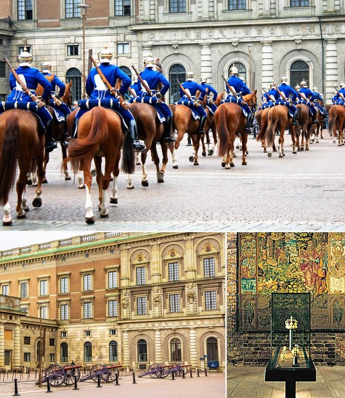 chateau royal Stockholm Suede a voir