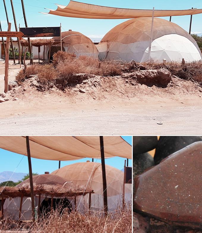 Musee de la meteorite San Pedro de Atacama chili a faire