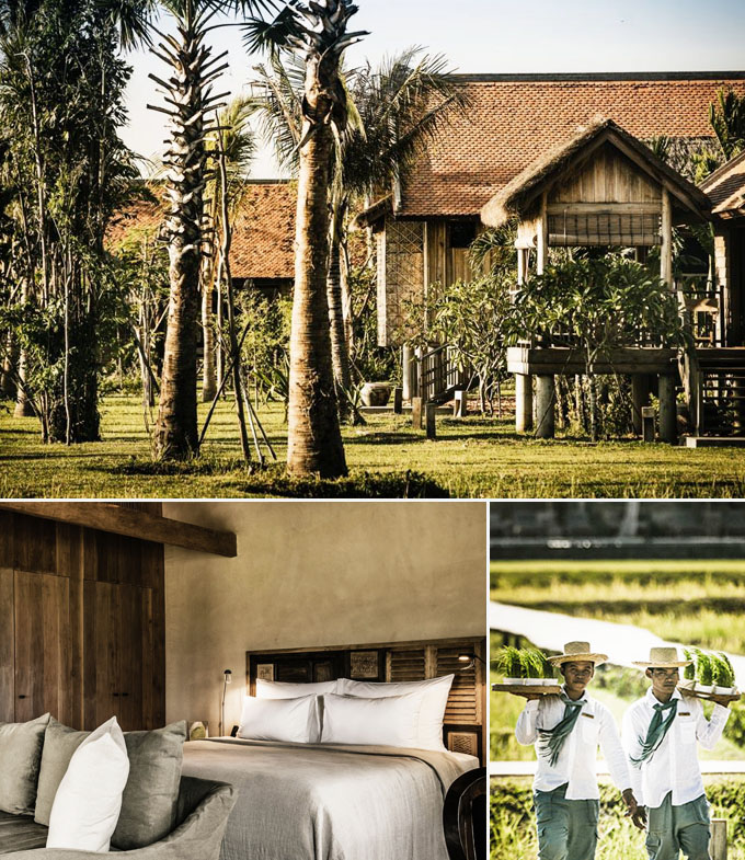 Phum Baitang Resort Angkor Cambodge