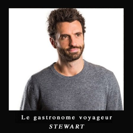 Stewart le gastronome voyageur globesetters@