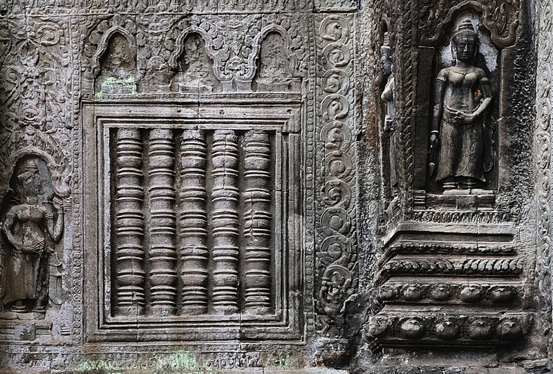 Ta Prohm temple Angkor Cambodge a faire