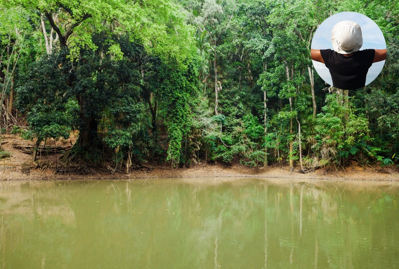 Udawattakele la foret Kandy sri lanka a faire