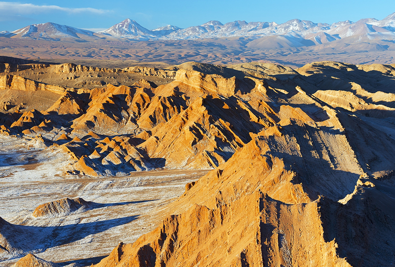 Vallee de la lune San Pedro de Atacama Chili a voir