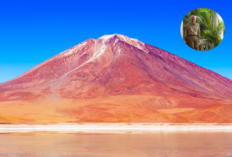 Volcan Licancabur San Pedro de Atacama Chili a faire