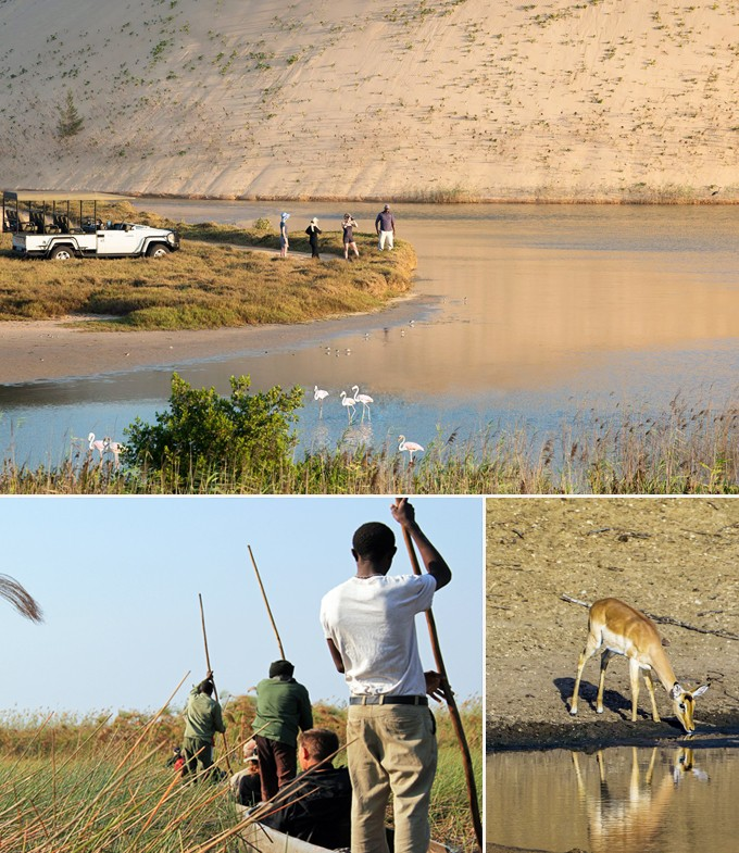 safari en canoe vilanculos mozambique