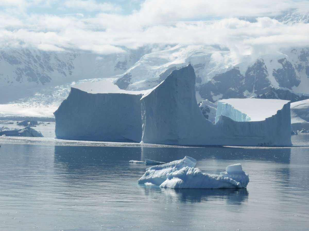 Which lake is hidden under the Antarctic ice?