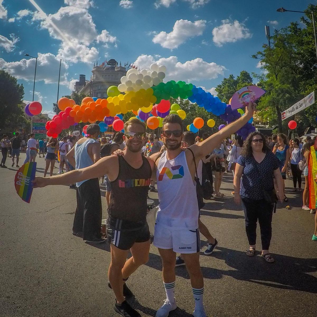 gay pride madrid