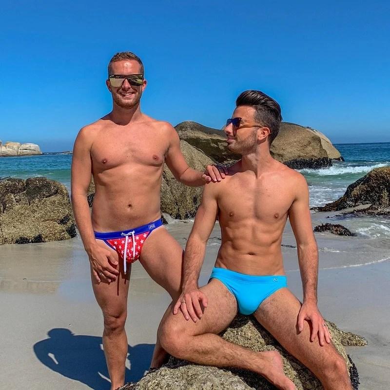 Gay beach photo