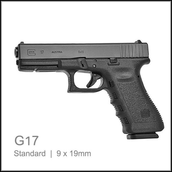 Glock 17 9mm pistol semi auto