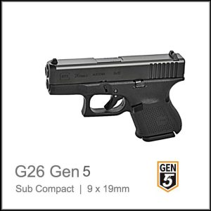 Glock 26 Gen 5, G 26