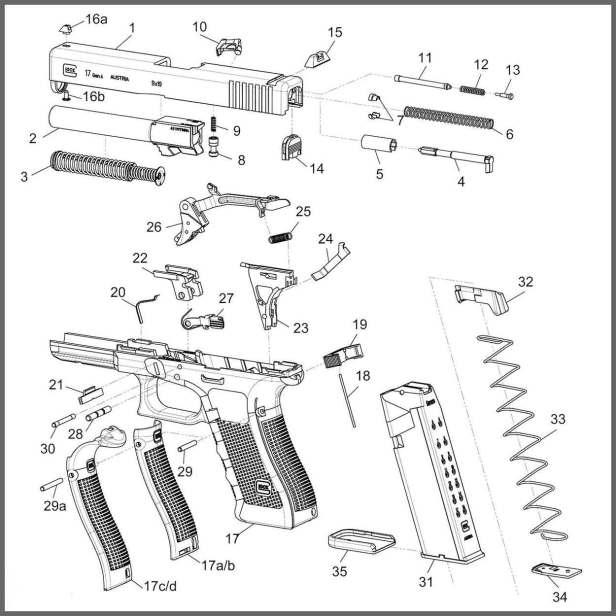 Glock Schematic