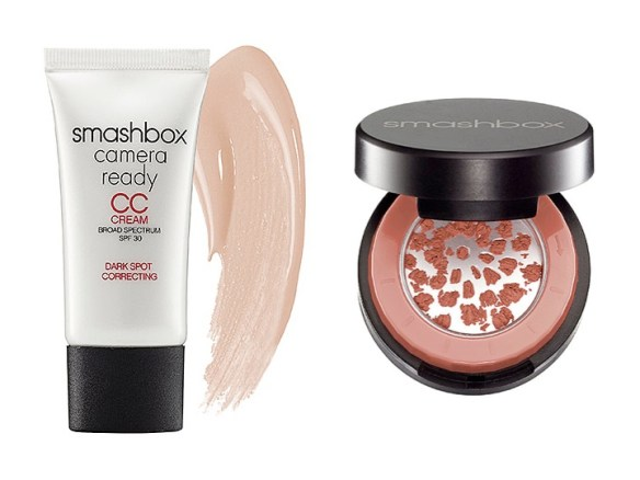 smashbox cc cream halo blush
