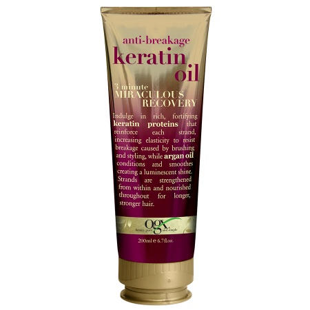 ogx anti-breakage keratin oil 3 minute miraculous recovery