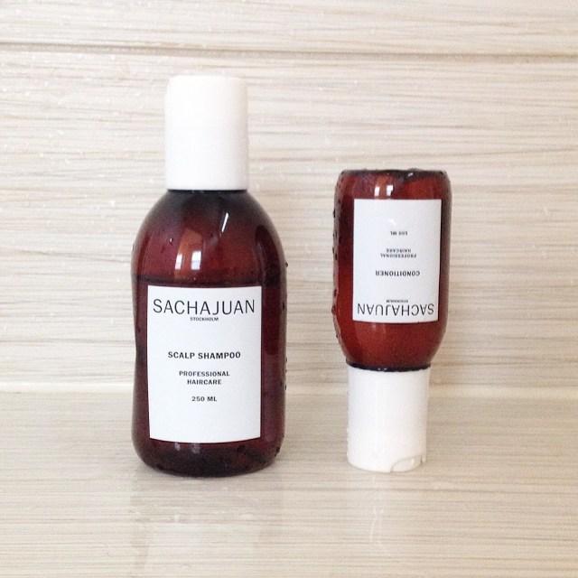 sachajuan scalp shampoo conditioner