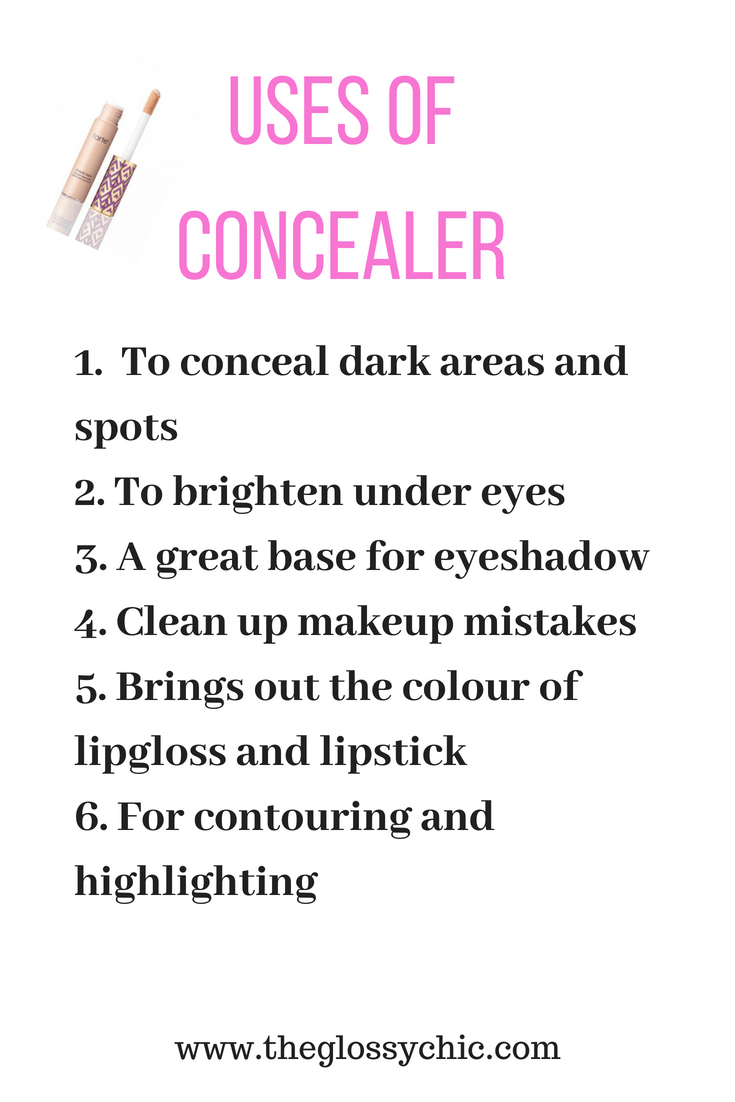 what is the concealer used for?