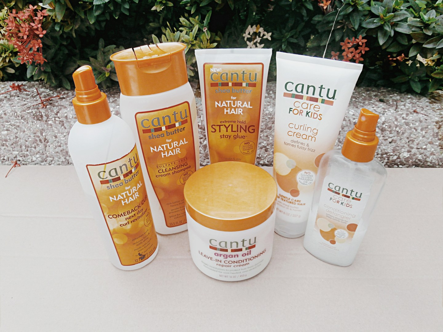 CANTU BEAUTY HAIR PRODUCTS REVIEW