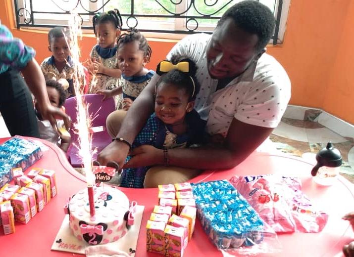 2 year old birthday celebration