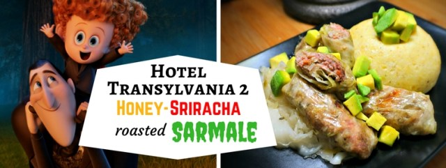 "This Hotel Transylvania 2 inspired recipe modernizes a traditional Transylvanian Sarmale with honey, sriracha, and a ""good fat"". Recipe by The Gluttonous Geek."