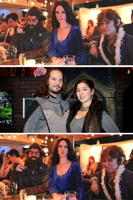 Battle and Brew's Middle Earth Feast of Starlight featured a host of dishes and drinks inspired by the works of J.R.R. Tolkien. Recap and photos by The Gluttonous Geek.