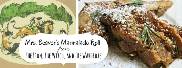 Mrs. Beaver's Gloriously Sticky Marmalade Roll featuring smoked flour, walnuts, and rosemary. Inspired by C.S. Lewis's The Lion, The Witch, and the Wardrobe. Recipe by The Gluttonous Geek.