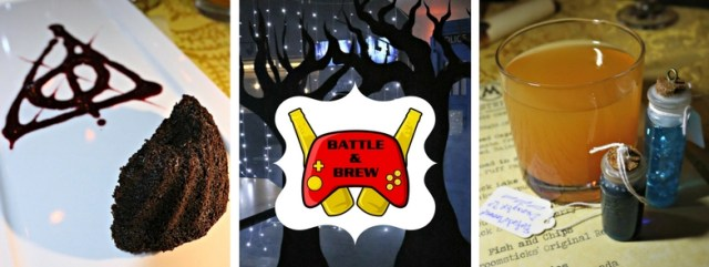 The Gluttonous Geek's recap of the 2016 Hogwarts Yule Dinner at Battle and Brew.