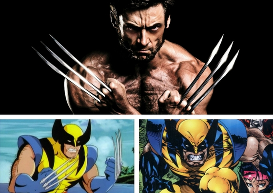 The Wolverine in his many forms.