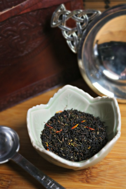 Scottish Breakfast Heritage Blend by Plum Deluxe Tea Company.