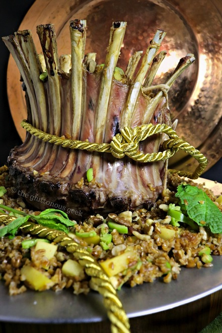 This Themysciran Feast of Five Crown of Lamb recipe features ingredients inspired by the home of Wonder Woman and its patron goddesses. Recipe by The Gluttonous Geek.