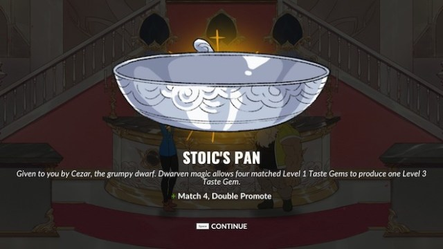 Stoic's Pan from Battle Chef Brigade.