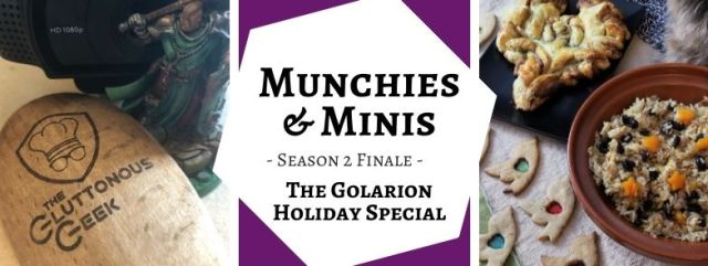 The Golarion Holiday Special inspired by Pathfinder RPG. Recipes by The Gluttonous Geek.