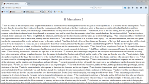 FireBible II Maccabees from CPDV