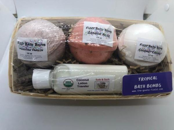 Tropical Bath Bomb Set