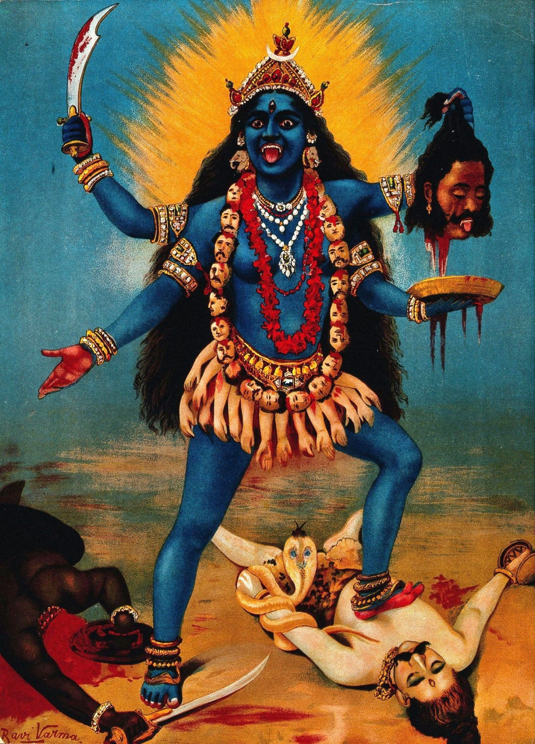 KALI - THE WORLD IS PETRIFIED OF STRONG FEMALES