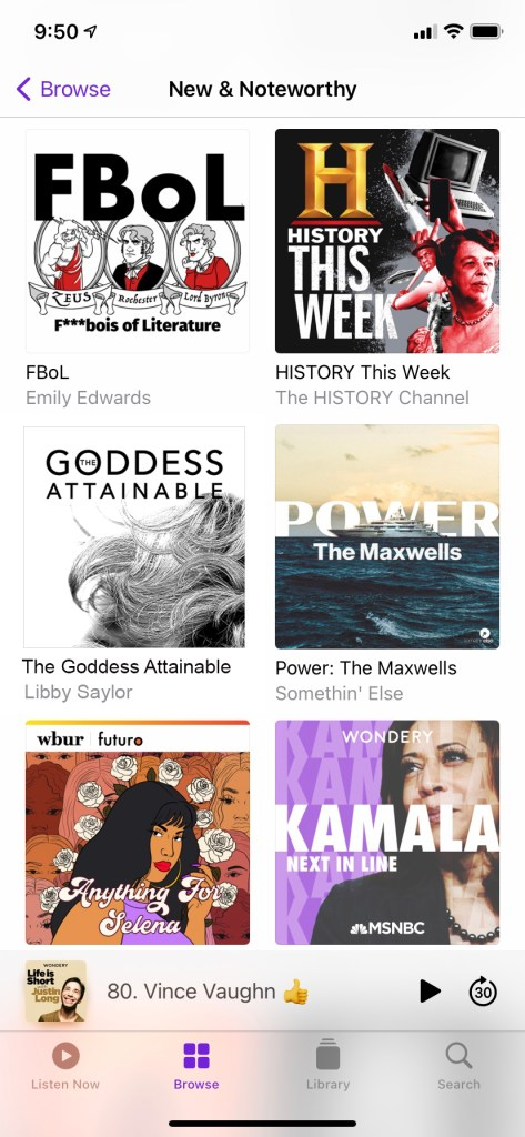 New And Noteworthy Apple Podcasts