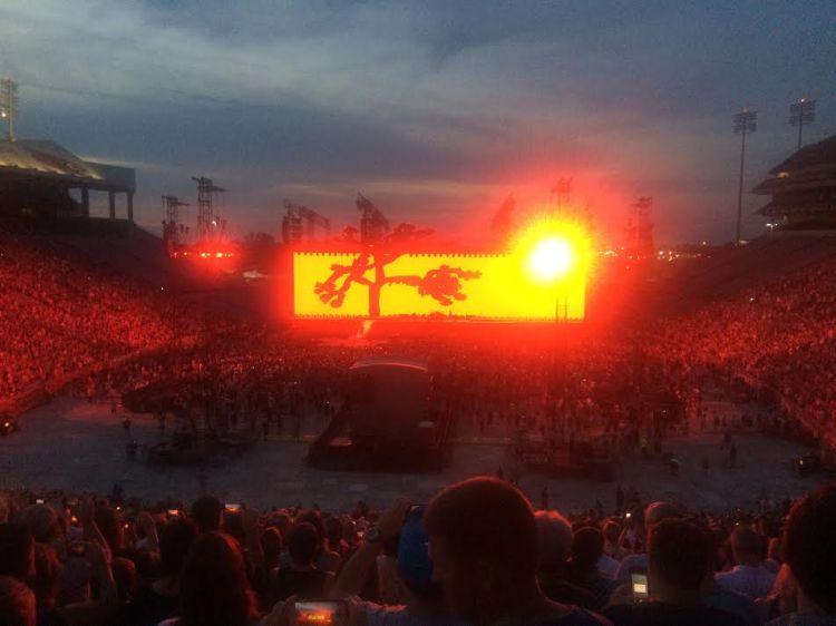 summer concert in louisville U2