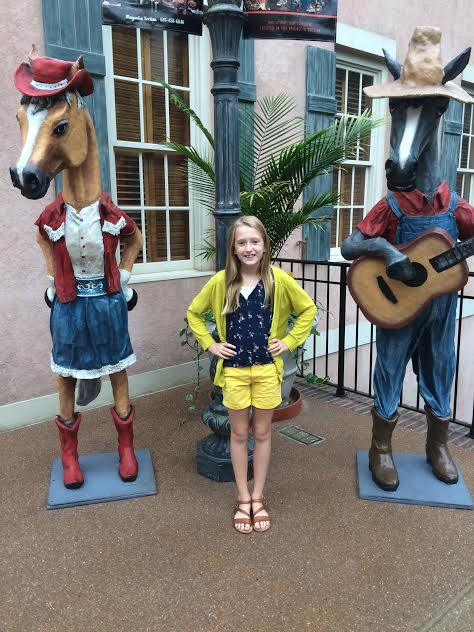 10 year old adventure in Nashville at the Gaylord Opryland Hotel