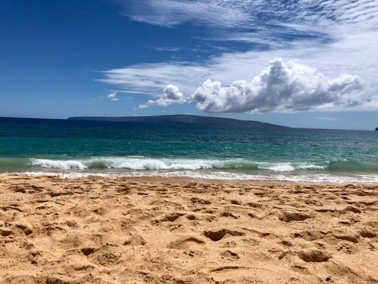 Aloha vibes at Big Beach
