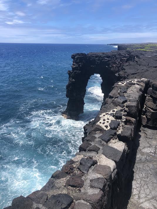 Deep blues of the Big Island