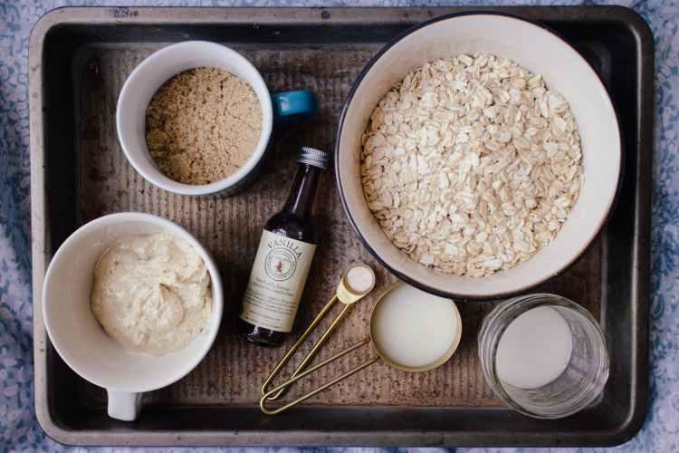oatmeal platter of comfort food