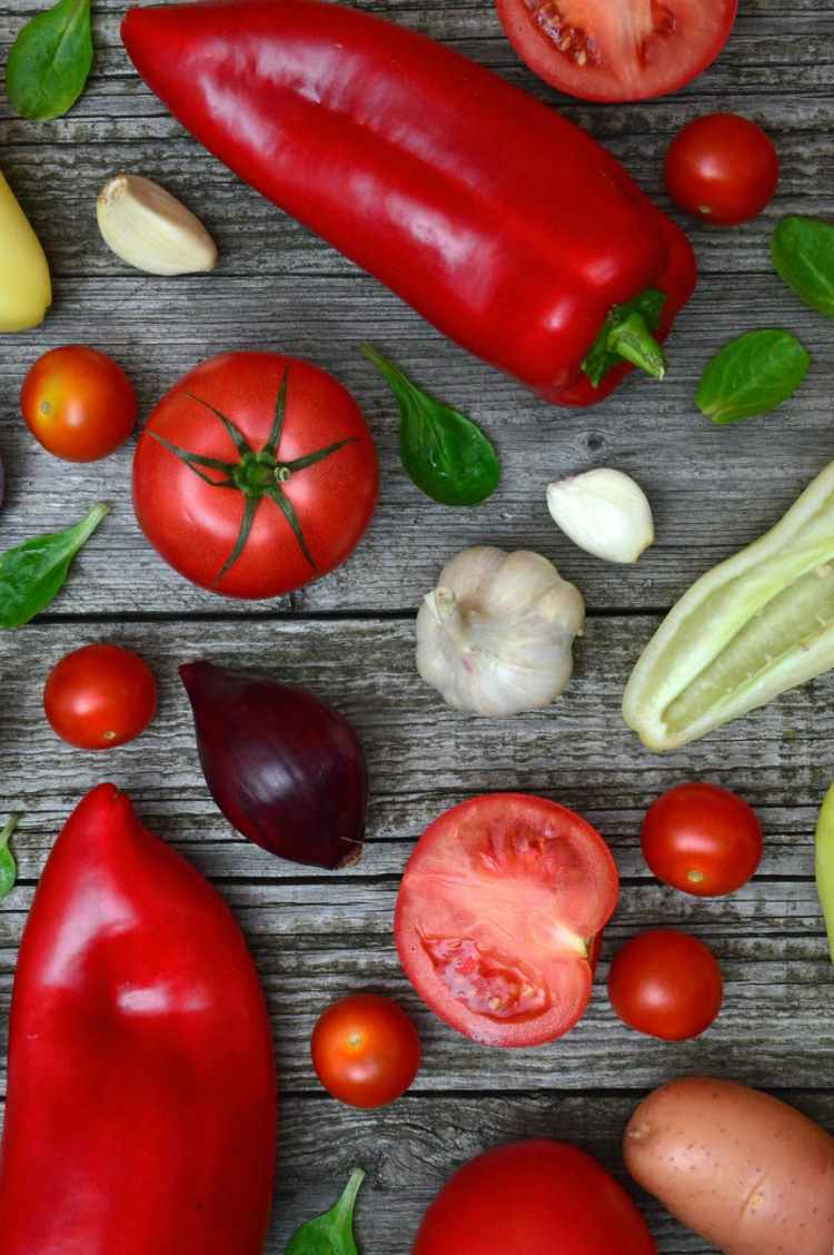 variety of vegetables for the magic of comfort