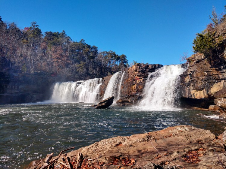 Waterfalls in the Little River Canyon National Preserve