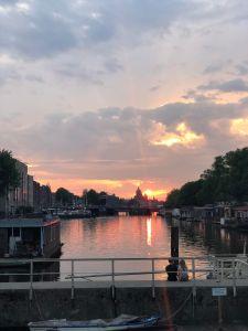 Sunset-Amsterdam