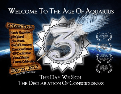 2012 Events ~ Welcome to the Age of Aquarius |