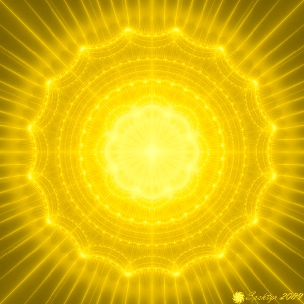 Golden Radiance Mandala
