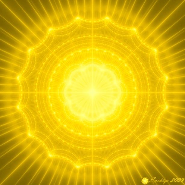 Golden Radiance Mandala