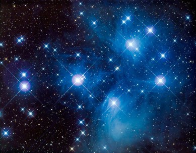 Pleiades-Star-System