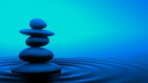 Serenity ~ Zen Water Stones HD Desktop Background