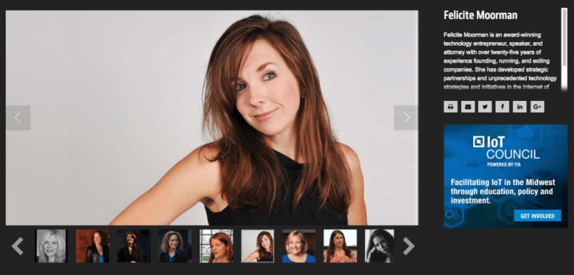 Felicite Moorman IoT Influencer
