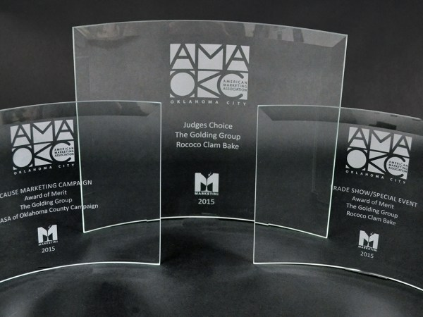 The Golding Group Wins 3 AMA Awards in 2015